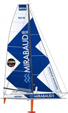 Mirabaud - It has already covered 49,000 miles in races. Launched in the Pacific Ocean in 2006, the 60-foot race yacht has a great list of achievements: the 2008-2009 Vendée Globe, the 2011 Barcelona World Race, a 4th place in the 2006 Route du Rhum, in the Round Britain Race as well as in the 2007 Fastnet Race and a 3rd place in the 2008 Barcelona World Race. © François Chevalier #VG2012 #VendeeGlobe