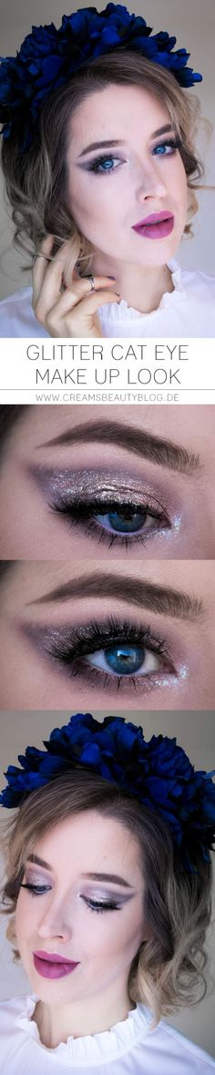 Glitter Cat Eye Make Up Look - Allie Landes - #glitzermakeup #makeup #Makeup #silverstermakeup #silvester #silvesterglammakeup #silvesterlook #SilvesterMakeUp #silvestermakeup2018 #silvestermakeup2019 #silvestermakeupdeutsch #silvestermakeupdrogerie #silvestermakeupglitter #silvestermakeupgold #silvestermakeuplook #silvestermakeuptutorial #silvestermakeup #silvestermakeuptutorial #sylvestermakeup - Glitter Cat Eye Make Up Look - Allie Landes
