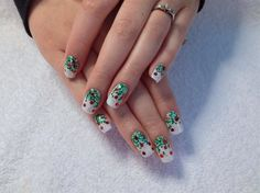Bright Christmas by Melinailfreak from Nail Art Gallery