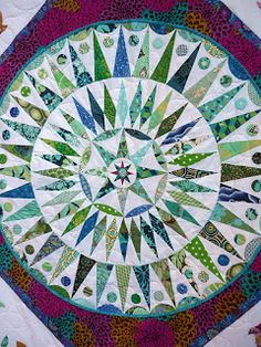 Blue Mountain Daisy: Bloggers Quilt Festival October 2012