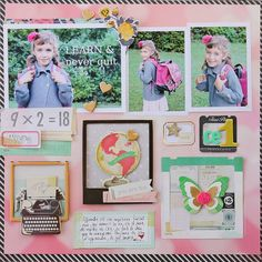 Sophie Crespy {BACK TO SCHOOL WITH CRATE PAPER }