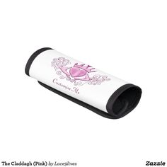 The Claddagh (Pink) Luggage Handle Wrap