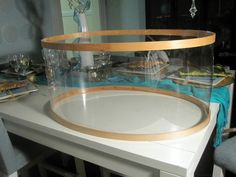 5 ways to get this look banquette dining pinterest diy drum design fluff diy drum shade chandelier mozeypictures Images