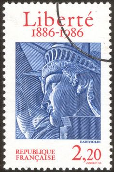 timbre émis par la Poste française pour le centenaire