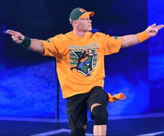 """John Cena has not been seen on SmackDown or WWE television because he is currently filming the second season of """"American Grit."""" The last time he was on WWE programming was at WWE No . John Cena Wwe Champion, Wwe Superstar John Cena, John Cena Undertaker, John Cena Pictures, Jone Cena, Wrestlemania 32, Wwe World, Celebrity Stars, Wwe Champions"""