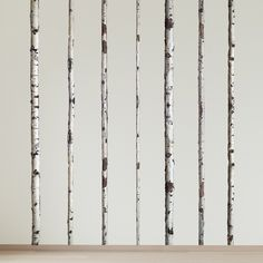 wall decals - Summer Birch Trees