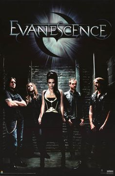 An awesome band portrait poster of Amy Lee and Evanescence! Ready for your wall. Published in 2011. Fully licensed. Ships fast. 24x36 inches. Need Poster Mounts..? bm2079 sc3093