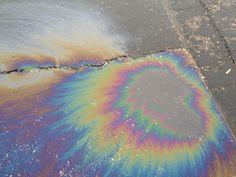 black oil rainbow - Google Search