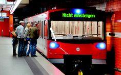 Driverless subway in Nurmeberg. Driverless subway trains will enter service ...