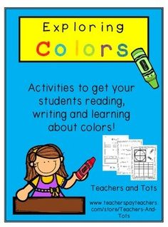 This packet includes reading, writing, cutting/pasting, graphing,  and coloring activities.  There is also a sheet included for experimenting with mixing colors.   It would work great as a supplement to a beginning-of-the-year colors unit.  There is NO PREP involved.Please consider leaving feedback after downloading.Check out my store, Teachers and Tots, for other products you might like.