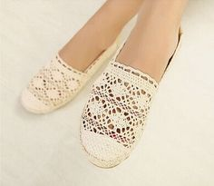 Free shipping new women casual flat shoes fashion slip on round toe loafers lace cut outs straw hemp rope canvas shoes