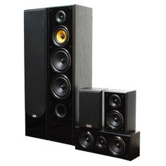 Passive Speaker System 5.0 Taga Harmony TAV-606 v3, 600W RMS, Black Passive Speaker, Speaker System, Google, Black, Acoustic Music, Black People
