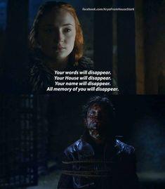 Sansa Stark (6x9) No longer the scared little girl..