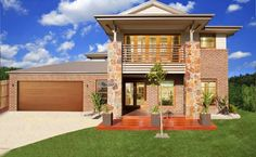 Find all new-home designs, floor plans, display homes and other details by Simonds Homes on FindHome. Ultimate new-home design comparison website. Simonds Homes, Storey Homes, New Home Builders, Display Homes, New Home Designs, House Front, Modern House Design, Home Projects, Osaka