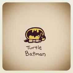 Turtle Batman #turtleadayjune - @turtlewayne- #webstagram