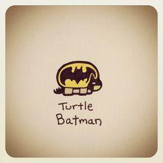 Turtle Batman #turtleadayjune - @Turtle Wayne- #webstagram