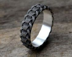 Norse Ringerike Dragon Viking Ring Scandinavian by WearTheRare