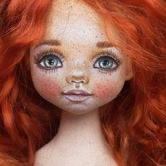 ☺☺☺кто хотел  рыжика? ))))) куколка номер 10.  Она такой наивный и нежный ребенок ☺смотрю на нее и хочется улыбнуться ей в ответ ☺ .РЕЗЕРВ