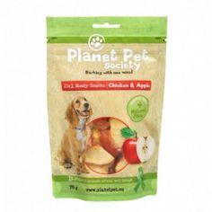 Planet pet snack Frutas Pollo y Manzana 70gr