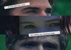 #HungerGamesExplorer#CatchingFireTrailerInto my eyes