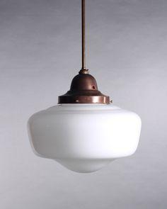 Elegant white case glass pendant light on twist flex pendant set white school house light on fixed rod from fritz fryer pendant lights mozeypictures Gallery