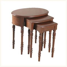 Elgin Colonial Nesting Occasional Tables