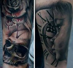 Bacanu Bogdan | Bucuresti | Bioart Tattoo | Surrealist Tattoos | Black & Gray Style | Guest Spot at Tattoostudio Nadelwerk CHECK OUT THE INTERVIEW: http://www.skin-artists.com/interview-with-bacanu-bogdan.htm