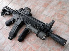 M4A1 Assault Rifle.