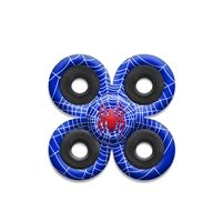 SPINNERS squad fidget toys Blue Spider Web