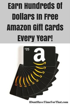 Top 22 Ways To Earn Free Amazon Gift Cards The Easy Way!