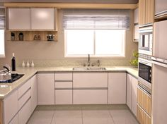 COZINHA REINAS Kitchen Room Design, Kitchen Cabinet Design, Modern Kitchen Design, Home Decor Kitchen, Interior Design Kitchen, Kitchen Furniture, Home Kitchens, Kitchen Ideas, Kitchen Modular