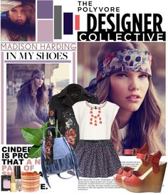"""""""Urban Bohemian with Madison Harding"""" by edenslove on Polyvore"""