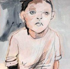 """Saatchi Art Artist Monica Bonzano; Painting, """"ABOUT HER (4)"""" #art"""