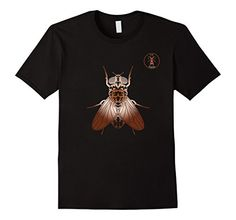 Cooties! La Roche Fly T-Shirt, Insect Bug Tee Shirt, $19.99. Please LIKE and Re-pin! http://www.amazon.com/gp/product/B01BFVXQ58 For your favorite entomologist or urban city dweller, in men, women and youth sizes. Copper artwork on royal blue, brown, black, burgundy and navy.