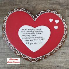 Heart Cookies, My Love, My Boo