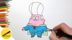 """How to draw Gideon. In this video I show you how to draw Gideon from the animated series """"Gravity falls"""". I paint baby Gideon step by step. A picture can make every one of you with his hands. Pleasant viewing and success in work!"""
