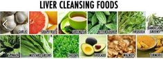 liver cleansing foods #cleanse #detox #green