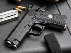 Wilson Combat Ultralight Carry Sentinel This compact 1911-style pistol has an impeccable black Armor-Tuff finish that is nicely accented by G10 Starburst grips. The fluted barrel is match grade and fitted by hand, and when combined with the crisp trigger, delivers an accuracy guarantee of creating 1.5-inch groups at 25 yards. -