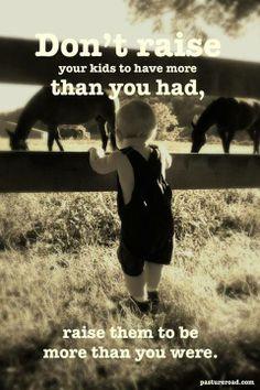 how to raise your kids to be sagacious