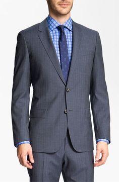 BOSS Black 'Huge/Genius' Stripe Suit available at #Nordstrom