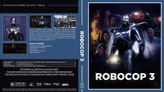 Robocop 3 Blu-ray Custom Cover Call Me, Cover Design, My Friend, Artwork, Work Of Art, Book Cover Design, Cover Art