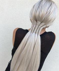 5 Step twist ponytail hairstyles 2019 easy to create this styles Plaits Hairstyles, Girl Hairstyles, Office Hairstyles, Anime Hairstyles, Stylish Hairstyles, Hairstyle Short, School Hairstyles, Hair Updo, Curly Hair