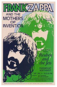 Frank Zappa, Paramount Northwest, 1972