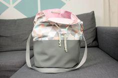 Snaply-Nähprojekt: Bucket Bag von DIY-Eule (Freebie)
