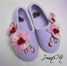 Felted slippers