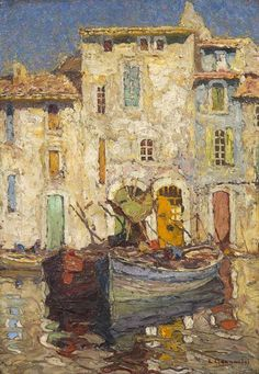 482: Louis Bonamici, (French, 1880-1966), Venice : Lot 482