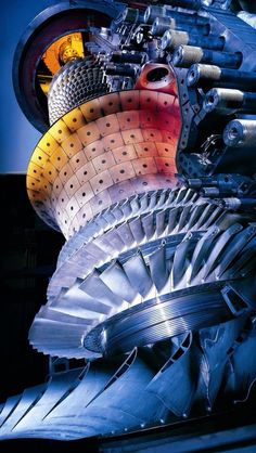 Gas Turbine Steam Turbine, Turbine Engine, Engineering Technology, Mechanical Engineering, Engine Pistons, Aircraft Engine, Industrial Photography, Jet Engine, Artwork Images