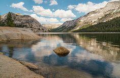 Peace and calm at Tenaya Lake in upper Yosemite off Tioga Pass.
