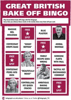 Twitter / Telegraph: The Great @BritishBakeOff starts ...