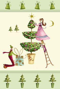 Nicola Rabbett - Christmas Topiary (colour).jpg